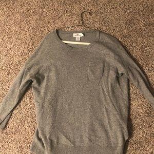 Gray sweater from Vineyard Vines